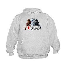Love Poodles Hoodie
