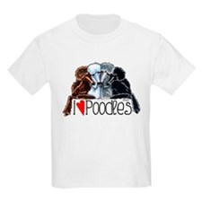 Love Poodles T-Shirt