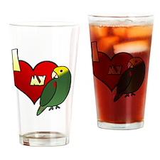 iheartmy_dyhamazon Drinking Glass