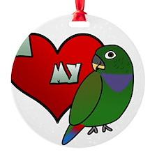 iheartmy_maxipionus Ornament