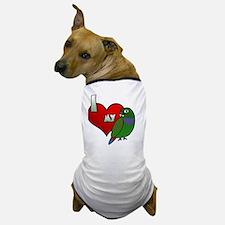 iheartmy_maxipionus_blk Dog T-Shirt