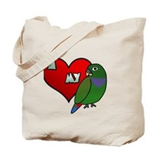 iheartmy_maxipionus_blk Tote Bag