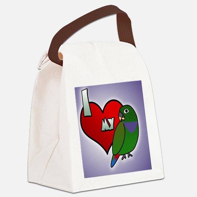 iheartmy_maxipionus_ornament Canvas Lunch Bag
