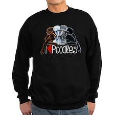 Love Poodles Sweatshirt