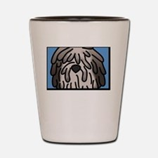 anime_bergamasco_fawn_blk Shot Glass