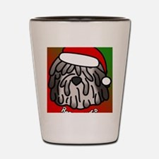 anime_bergamasco_fawn_ornament Shot Glass