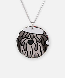 anime_bergamasco_fawn_orname Necklace