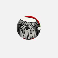 anime_bergamasco_grey_ornament Mini Button