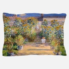 Artists Garden Pillow Case