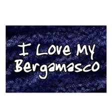 funklove_oval_bergamasco Postcards (Package of 8)