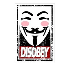 Disobey Postcards (Package of 8)