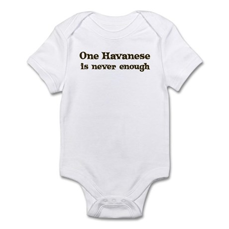 One Havanese Infant Bodysuit