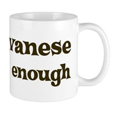 One Havanese Small Mug