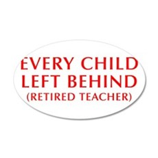 every-child-left-behind-OPT-RED Wall Decal