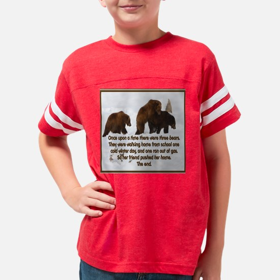 Gas bear 10x Youth Football Shirt