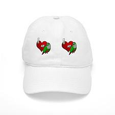 iheartmy_greencheekedconure_mug Baseball Cap