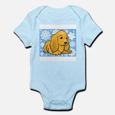 Holiday Cocker Spaniel Infant Bodysuit
