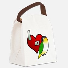 iheartmy_blackhead Canvas Lunch Bag