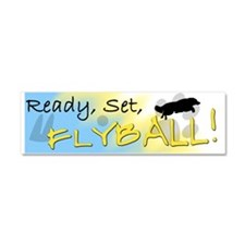 readysetflyball_bumper Car Magnet 10 x 3