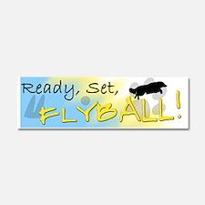 readysetflyball_bumper Car Magnet 10 x 3