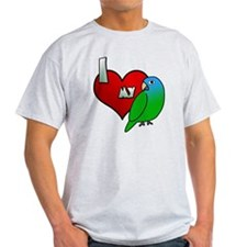 iheartmy_bluecrown_blk T-Shirt