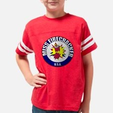 miss firecracker Youth Football Shirt