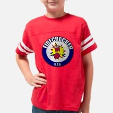 firecracker Youth Football Shirt