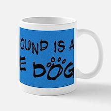 rescuedog_plott Small Small Mug