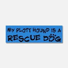 rescuedog_plott Car Magnet 10 x 3