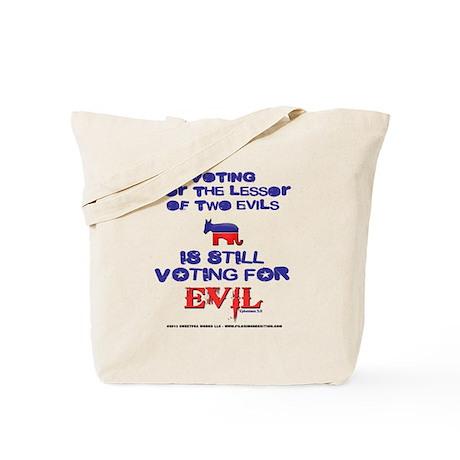 Voting Evil Tote Bag