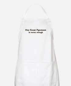 One Great Pyrenees BBQ Apron