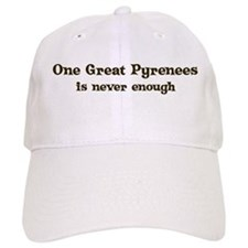 One Great Pyrenees Baseball Cap