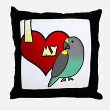 iheartmy_meyers Throw Pillow