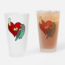iheartmy_meyers Drinking Glass