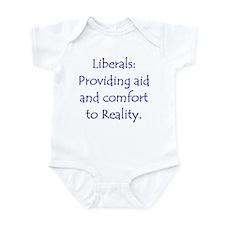Liberals: Aid & Comfort Reality Infant Bodysuit