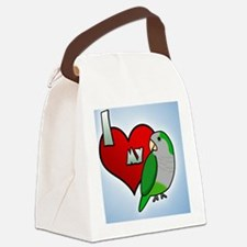 iheartmy_quaker_ornament Canvas Lunch Bag