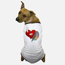 iheartmy_redbellied Dog T-Shirt