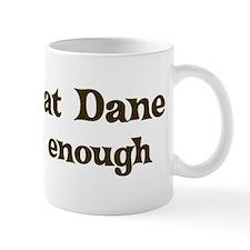 One Great Dane Mug