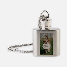 popper_iloveyou Flask Necklace