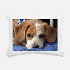 popper_thinkingofyou Rectangular Canvas Pillow