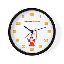 Santa Mage Wall Clock