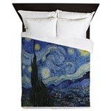Van gogh starry night Queen Duvet Covers
