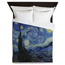 The Starry Night Queen Duvet