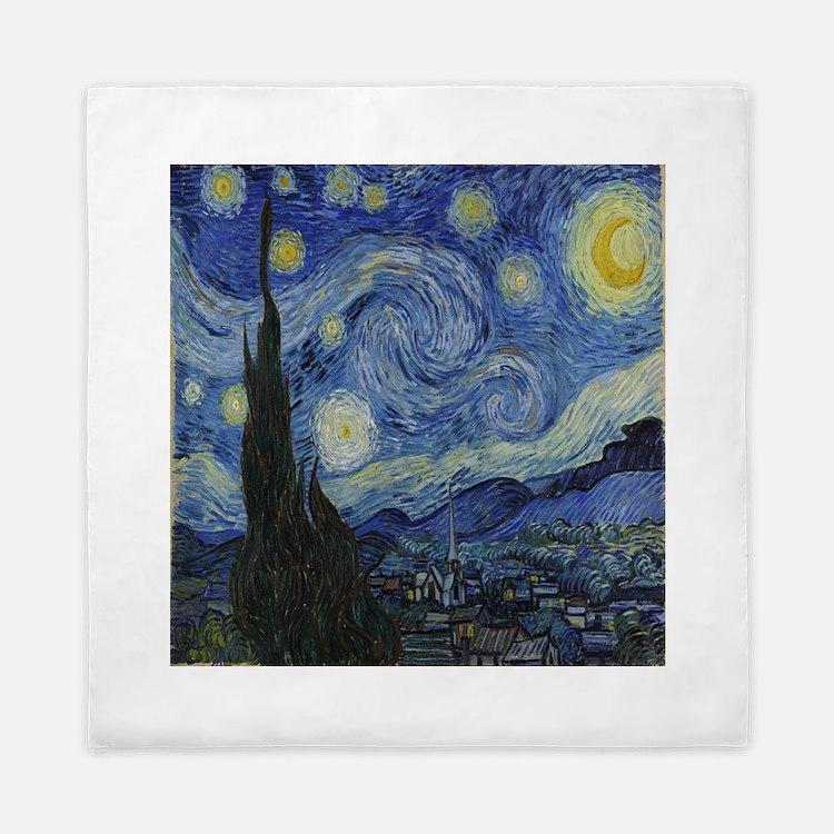 The Starry Night Queen Duvet