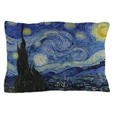 The Starry Night Pillow Case