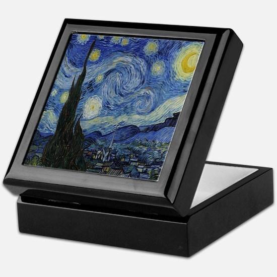 The Starry Night Keepsake Box