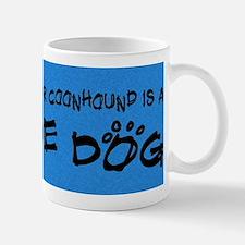 treeing_rescuedog Mug