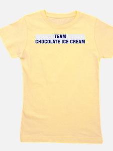 Team CHOCOLATE ICE CREAM T-Shirt