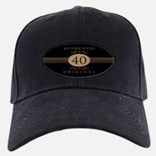40th Birthday Humor Baseball Hat