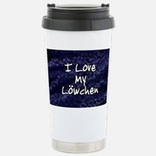 lowchen_funklove_oval Stainless Steel Travel Mug